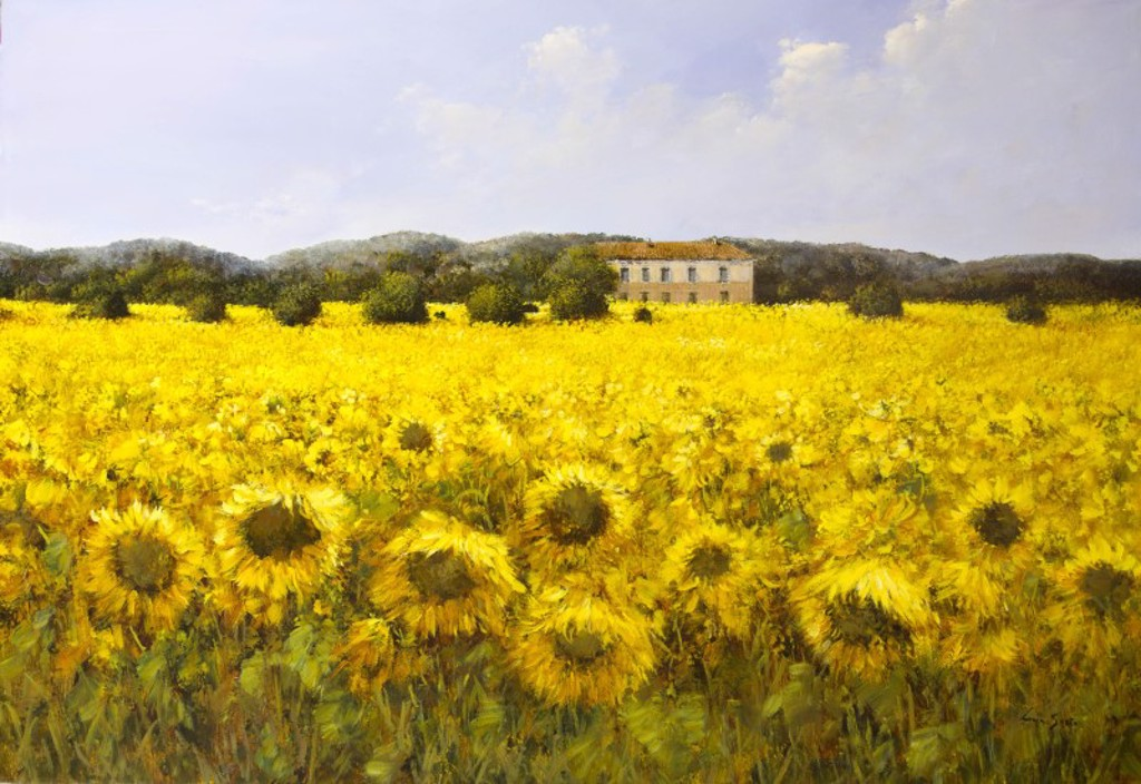 Sunflowers by Lucia Sarto