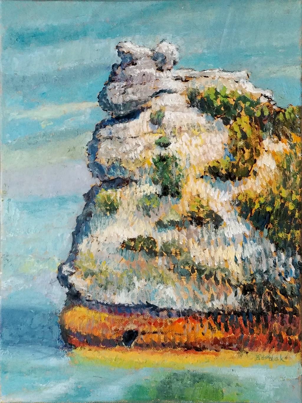 Pictured Rock by Karl Burdak