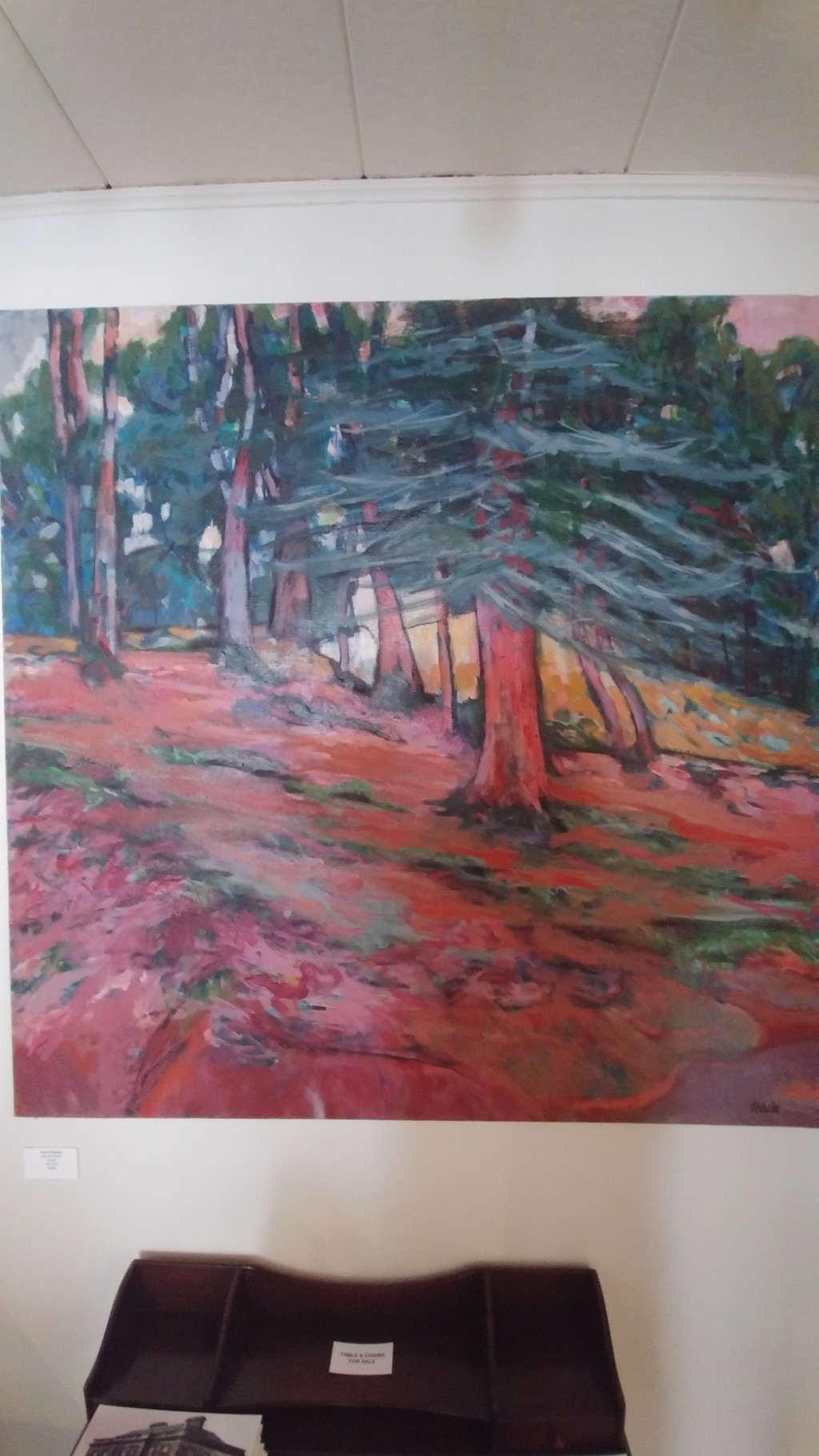 Spruce Forest (SOLD) by Ursala Randall