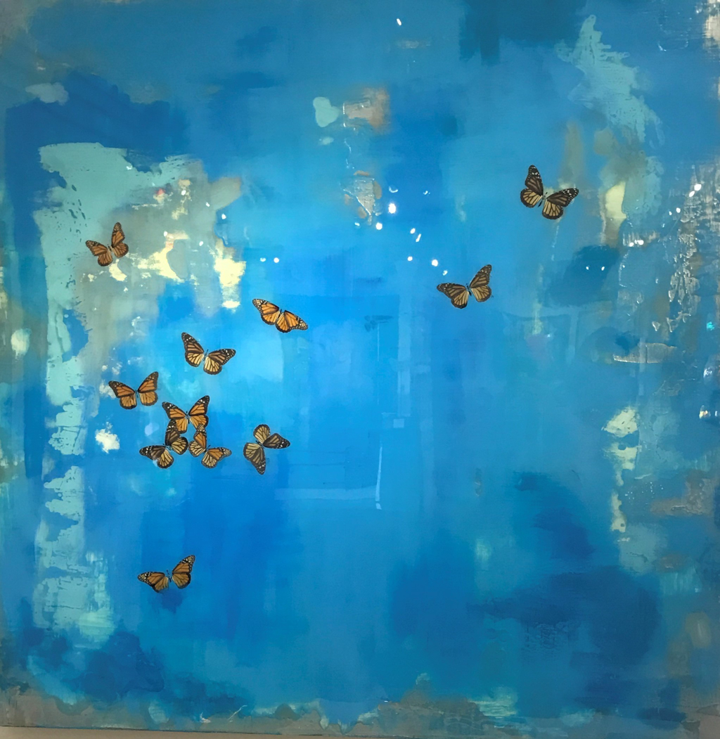 Monarch Migration by Lucy Peveto
