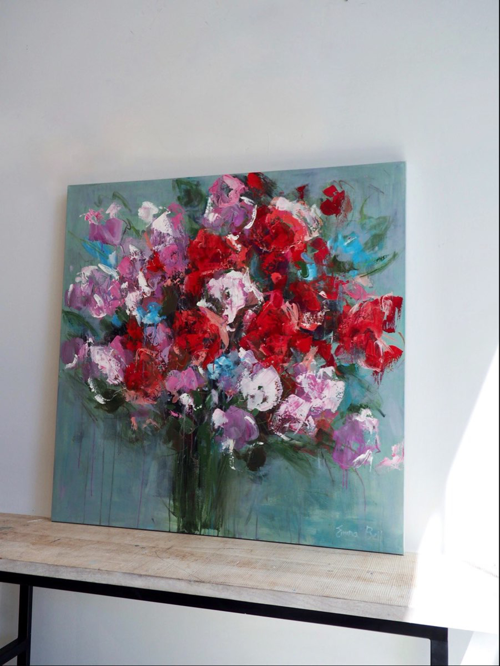 Red Flowers by Emma Bell
