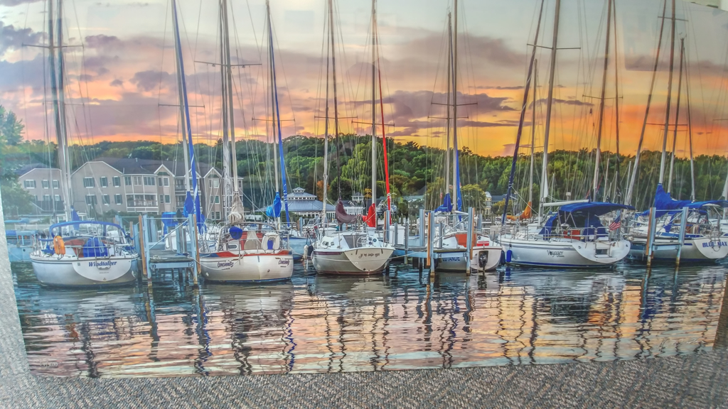 Saugatuck Sunset by Ken Yoder