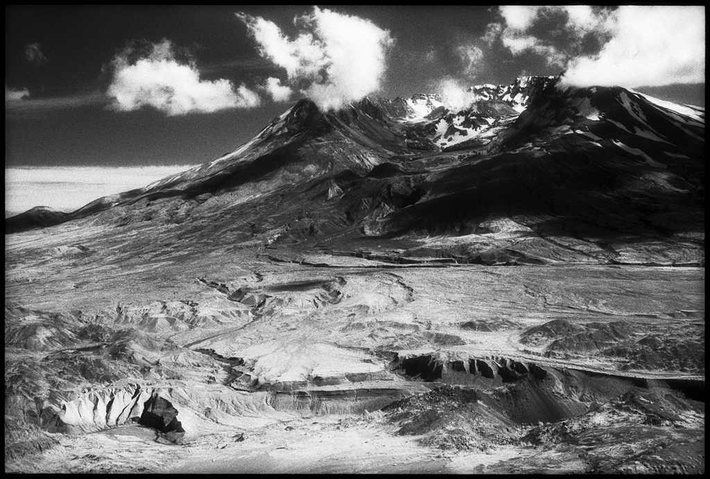 Mt St. Helens I by Edward C. Alfano