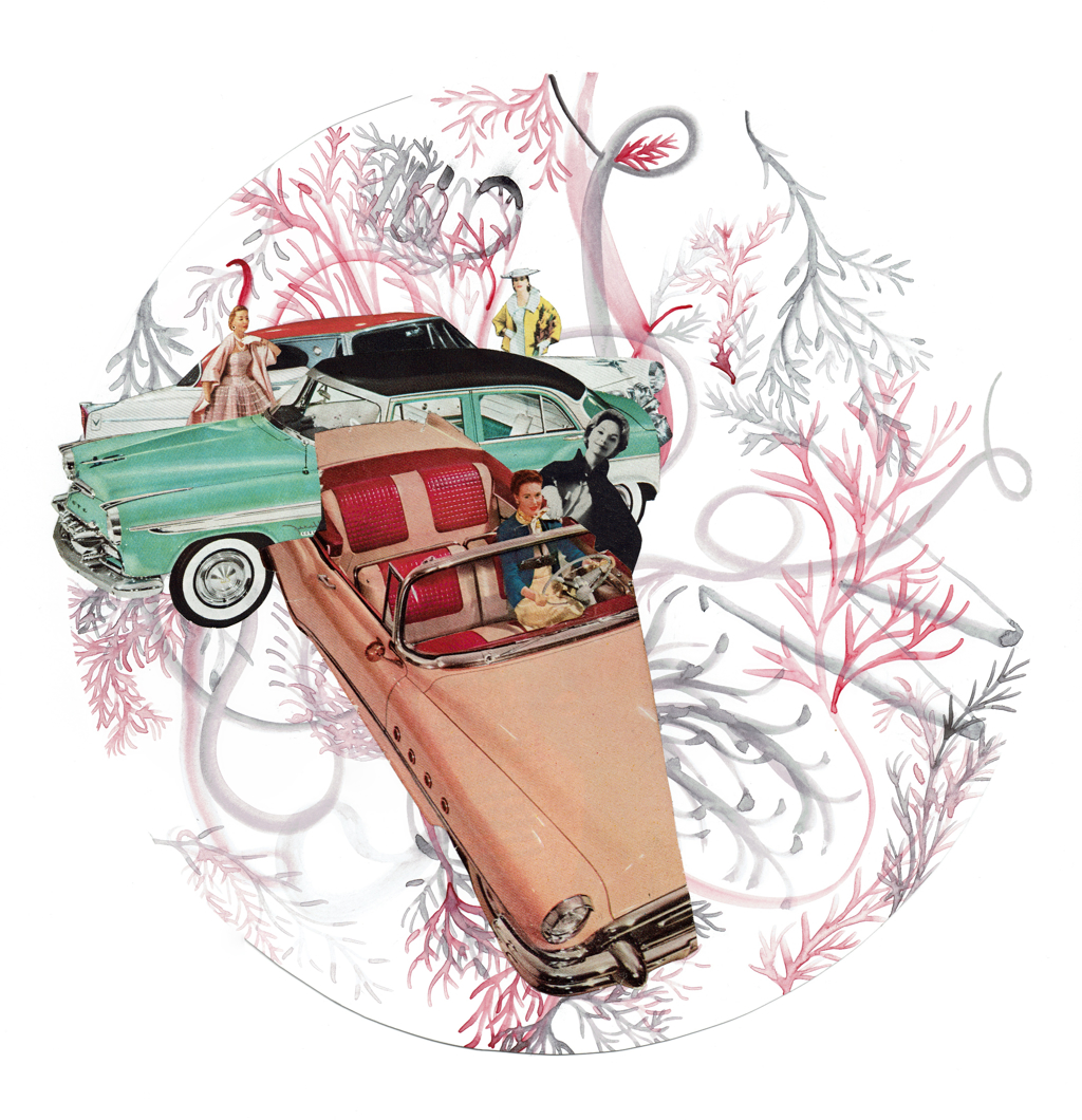 Drive-in in Pink by Laura Dunkin-Hubby