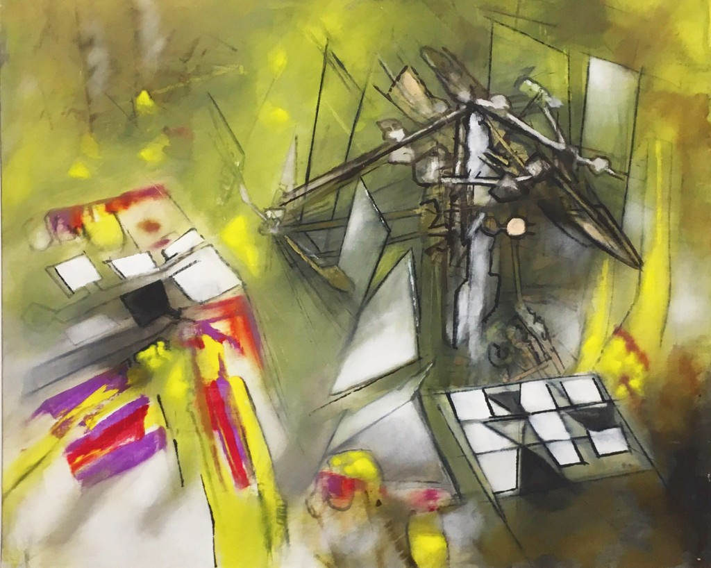 Jazz II by Roberto Matta (1911 - 2002)
