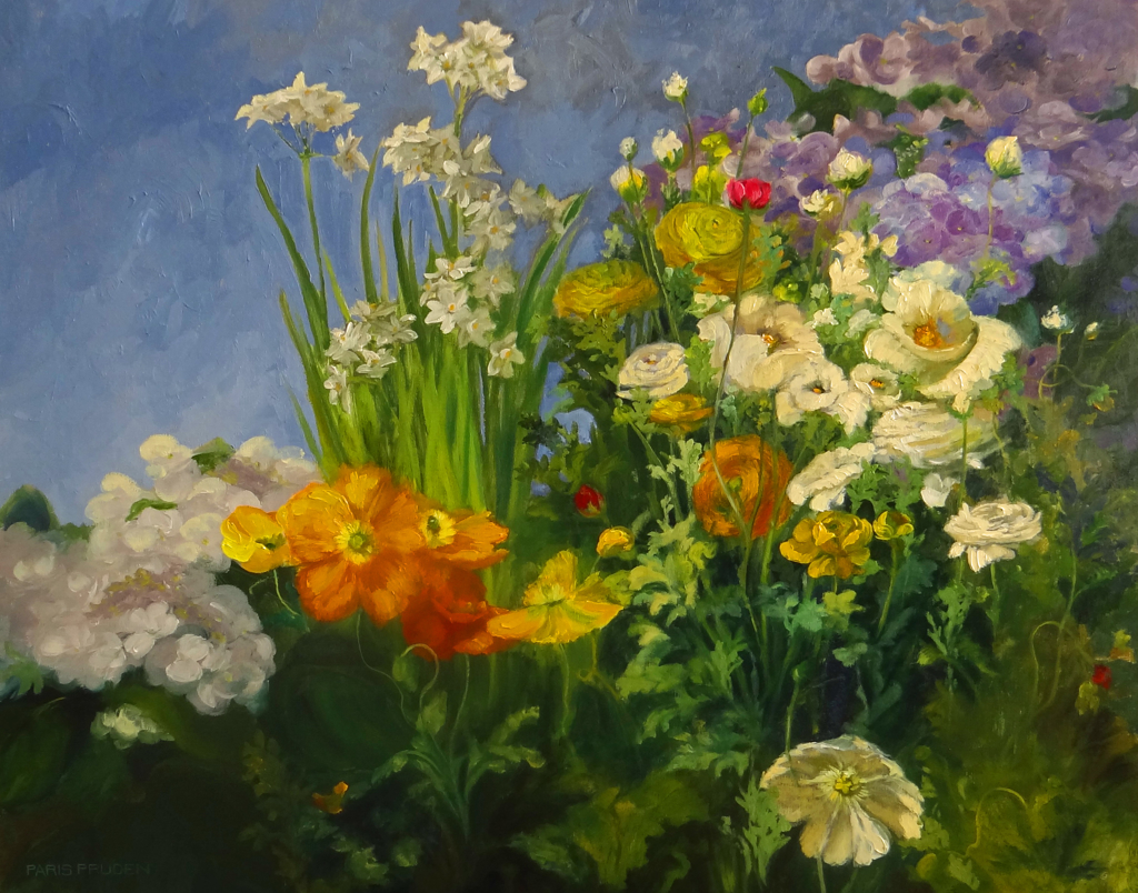 Spring Garden  by Nancy Paris Pruden