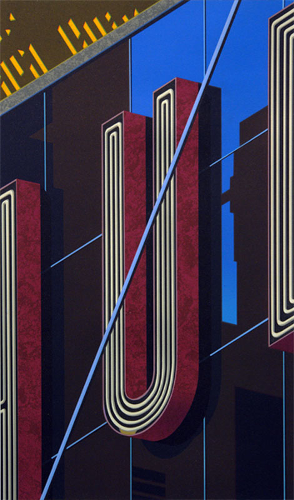 An American Alphabet: U by Robert Cottingham