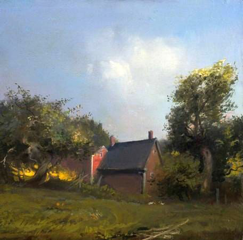 Late Afternoon, Orchard View by Frank Mason (1921 - 2009)