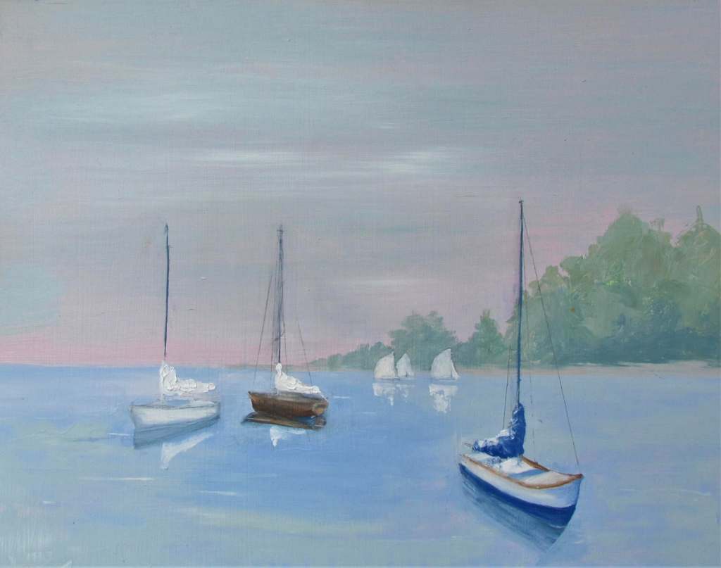 Quiet Sails by Patti Mollema