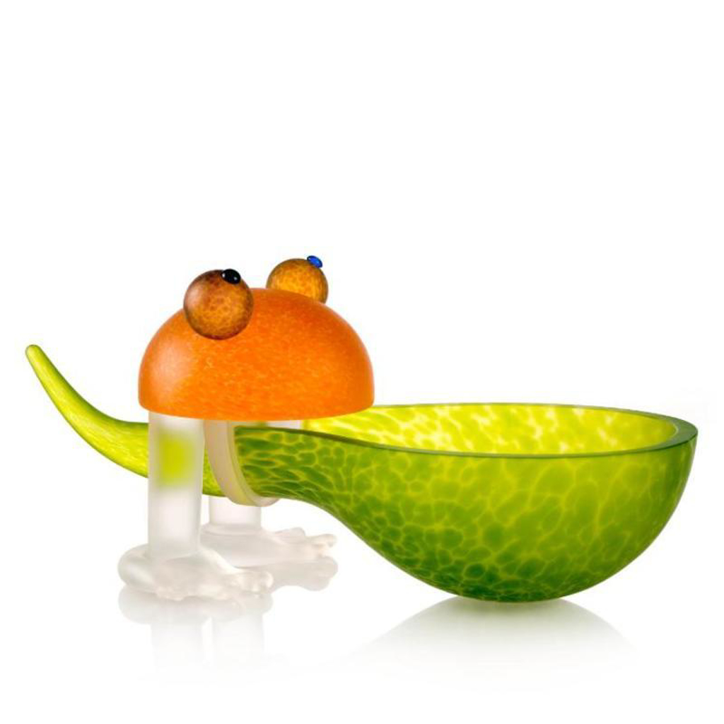 Frosch Frog Bowl Lime Green by Borowski