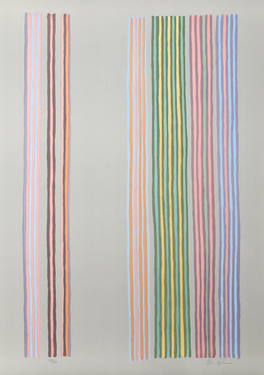 Royal Curtain by Gene Davis