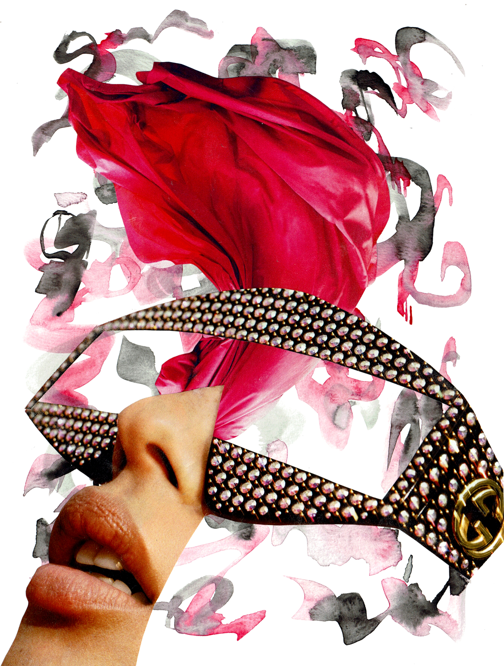 Pink & Black by Laura Dunkin-Hubby