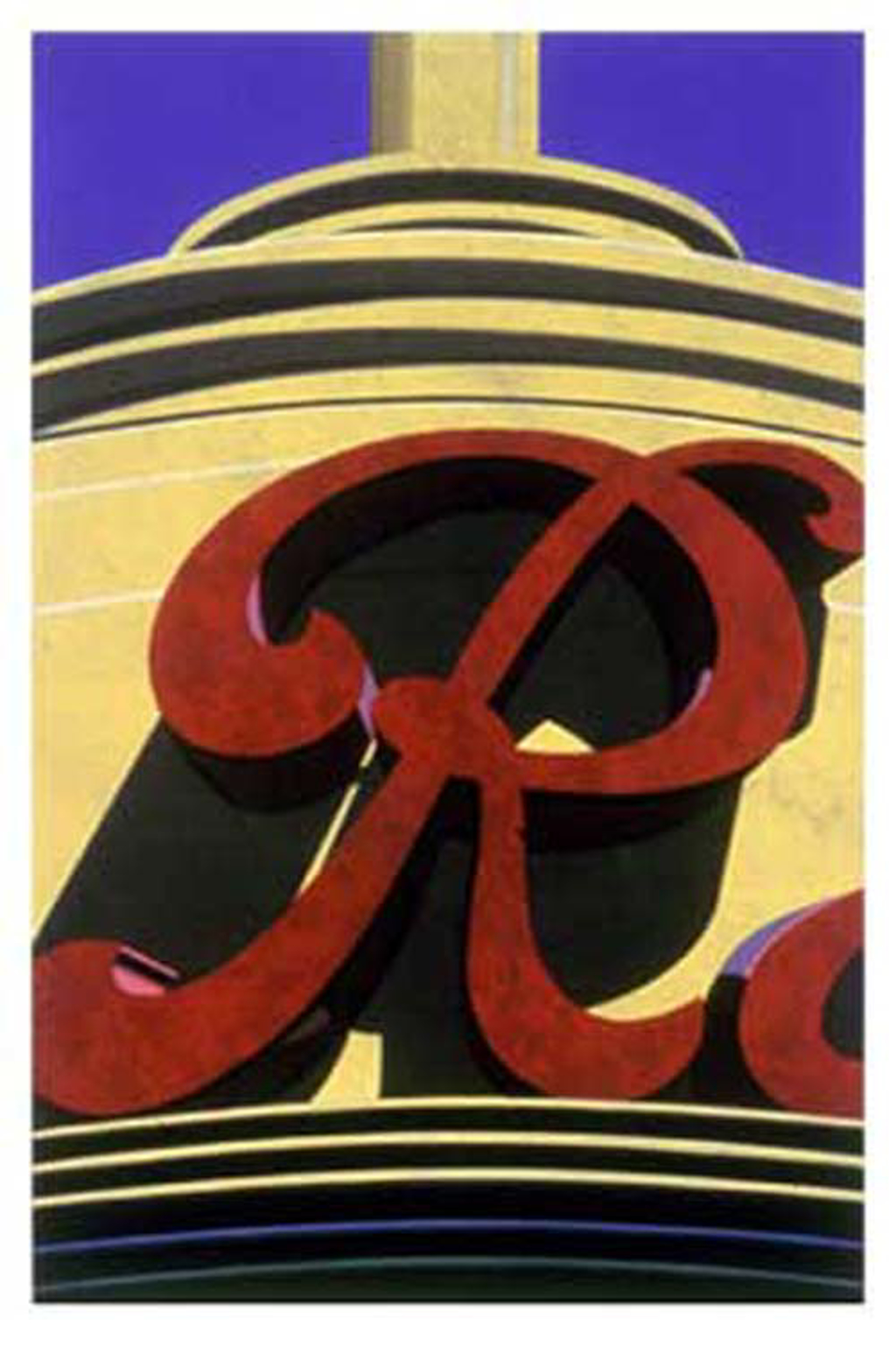 An American Alphabet: R by Robert Cottingham