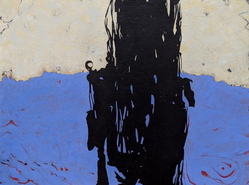Blue Hero by Helen Bellaver