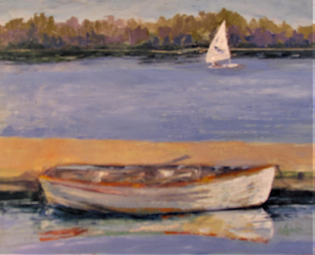 Dinghy by Patti Mollema