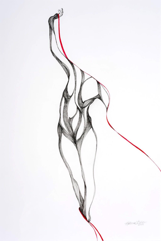 Pose Three, Study I by Katherine Filice