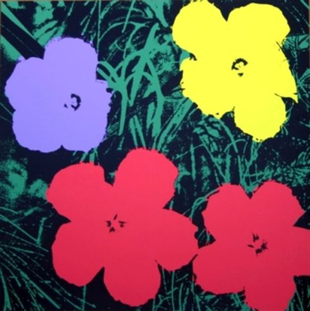 Flowers 73 by Andy Warhol (1928 - 1987)