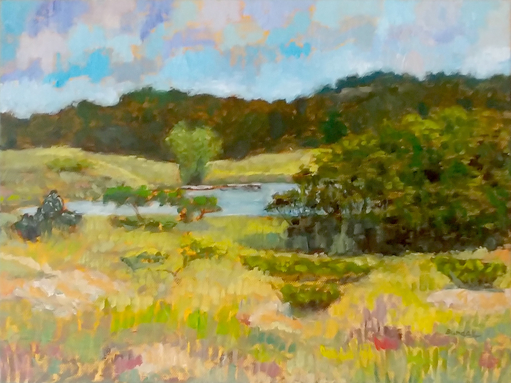 Oval Beach Trail III by Karl Burdak