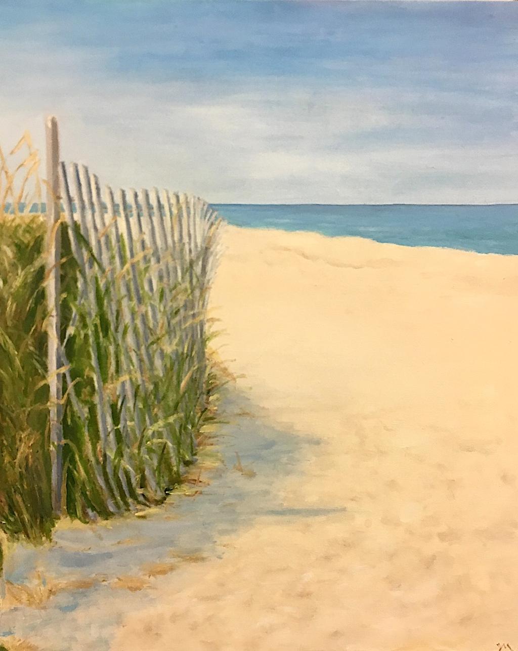 Leelanau Beach by Judy McGrath