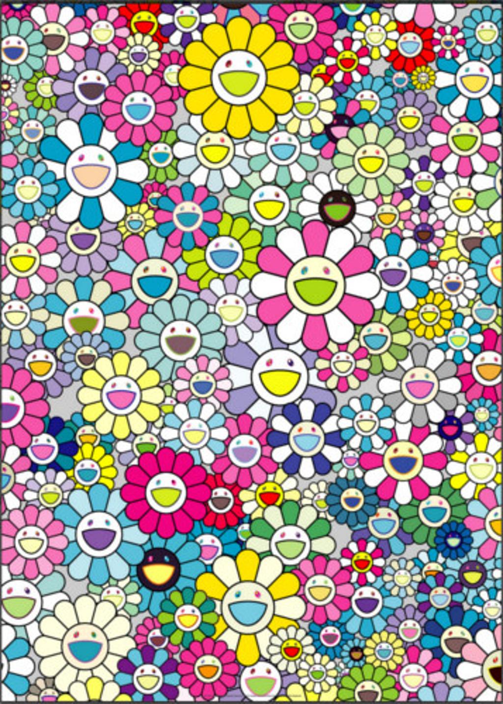I Look Back And There, My Beautiful Memories by Takashi Murakami (b. 1962)