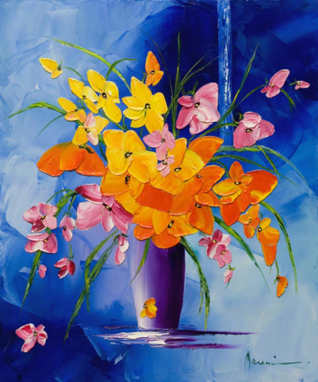 Bouquet Carnaval by Monika Meunier