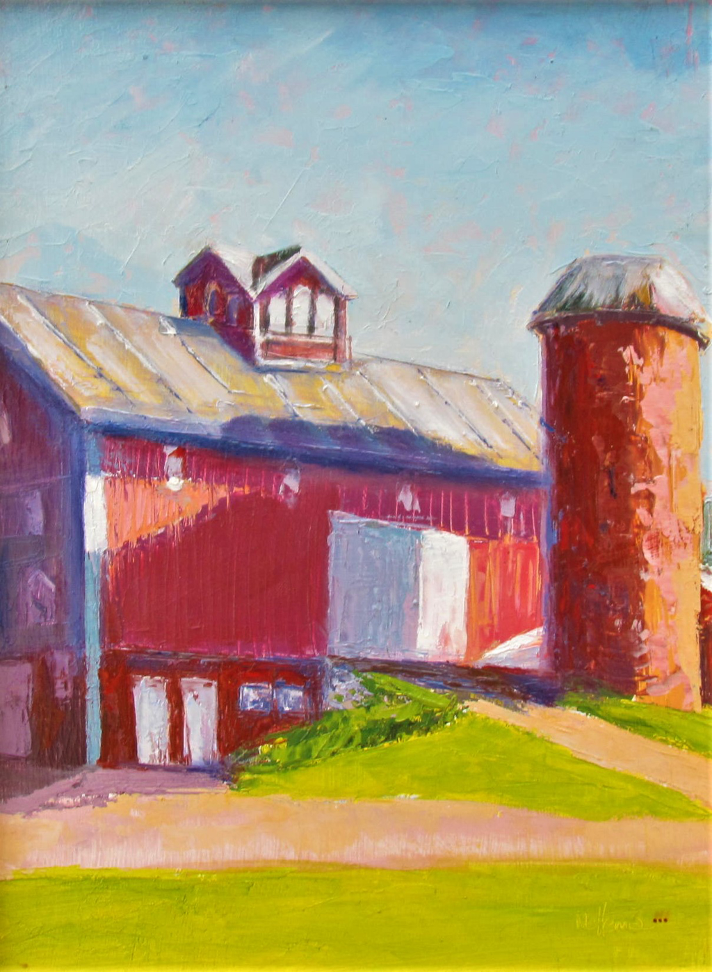 Broad Side of a Barn by Patti Mollema