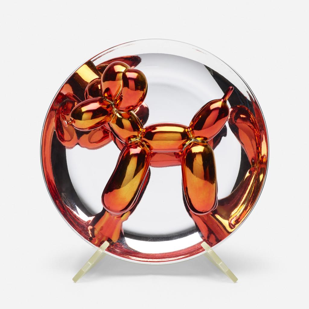 Balloon Dog Orange by Jeff Koons (b. 1955)