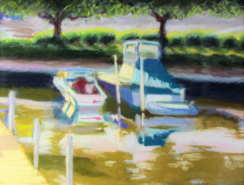 Boats at Rest by Patti Mollema