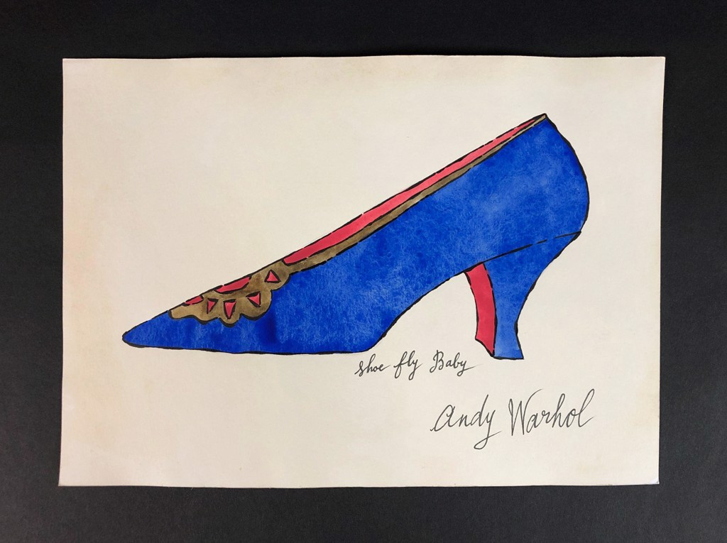 Shoe fly Baby by Andy Warhol (1928 - 1987)