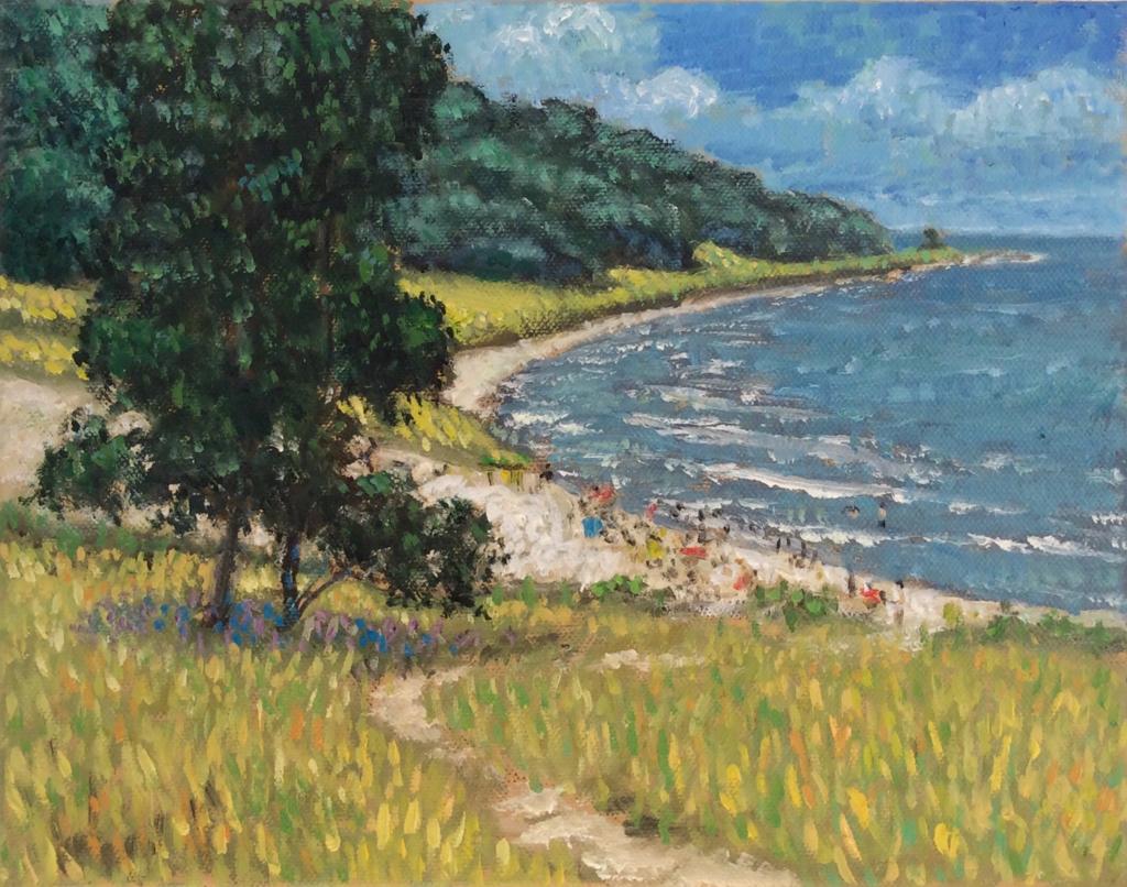 Oval Beach by Karl Burdak