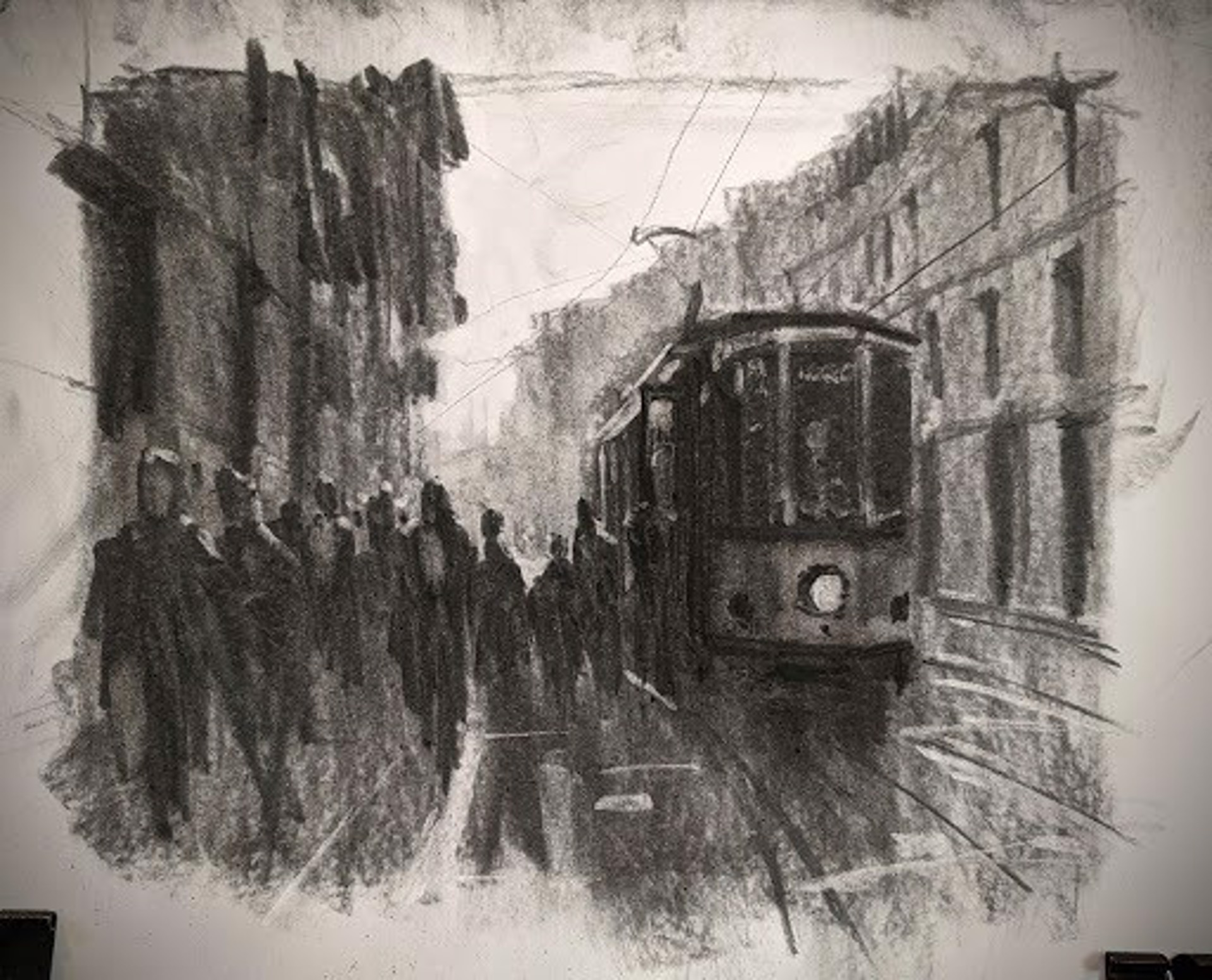 Sketch: Milan, Italy by Christopher Clark