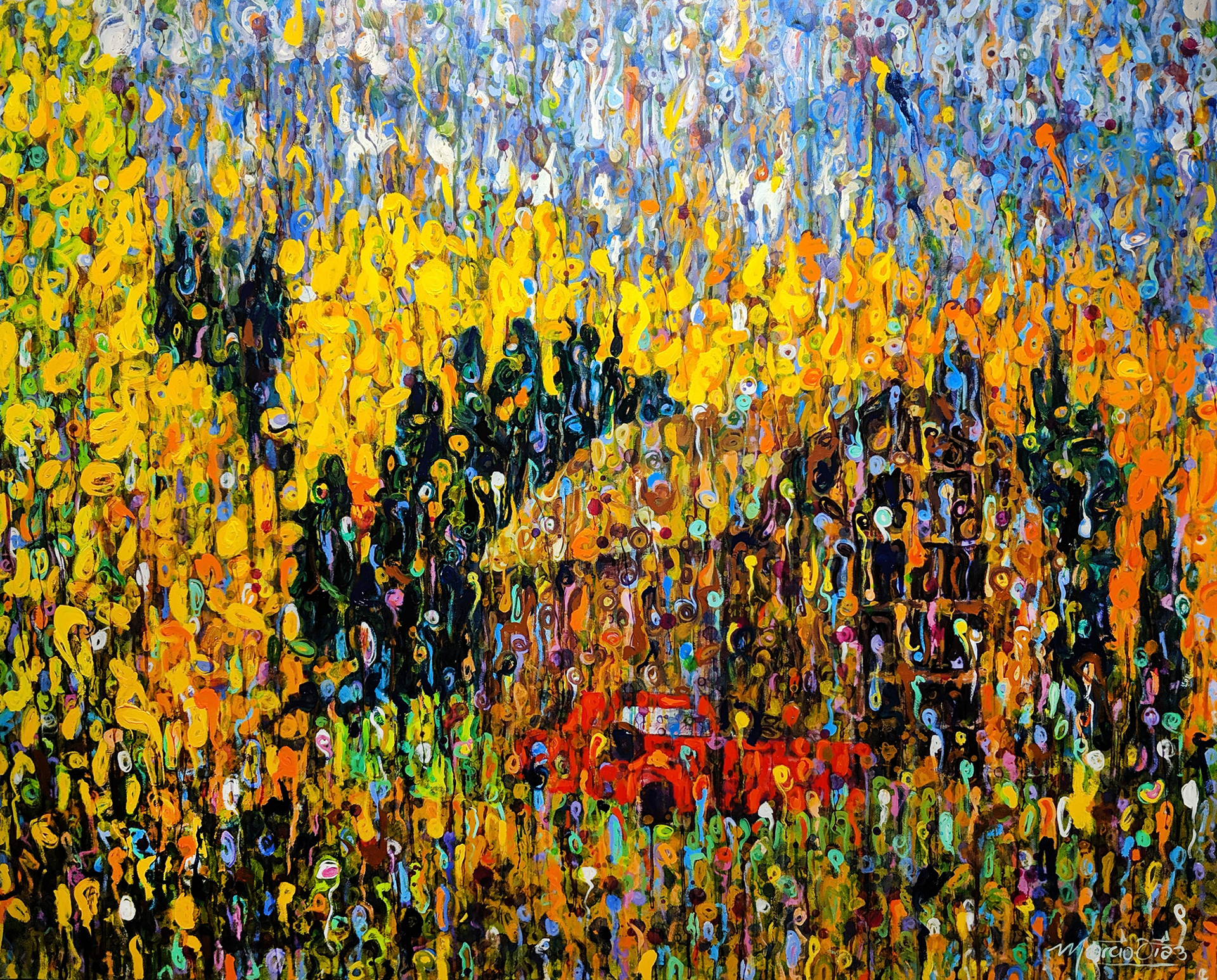 Autumn in the Rockies by Marcio Diaz