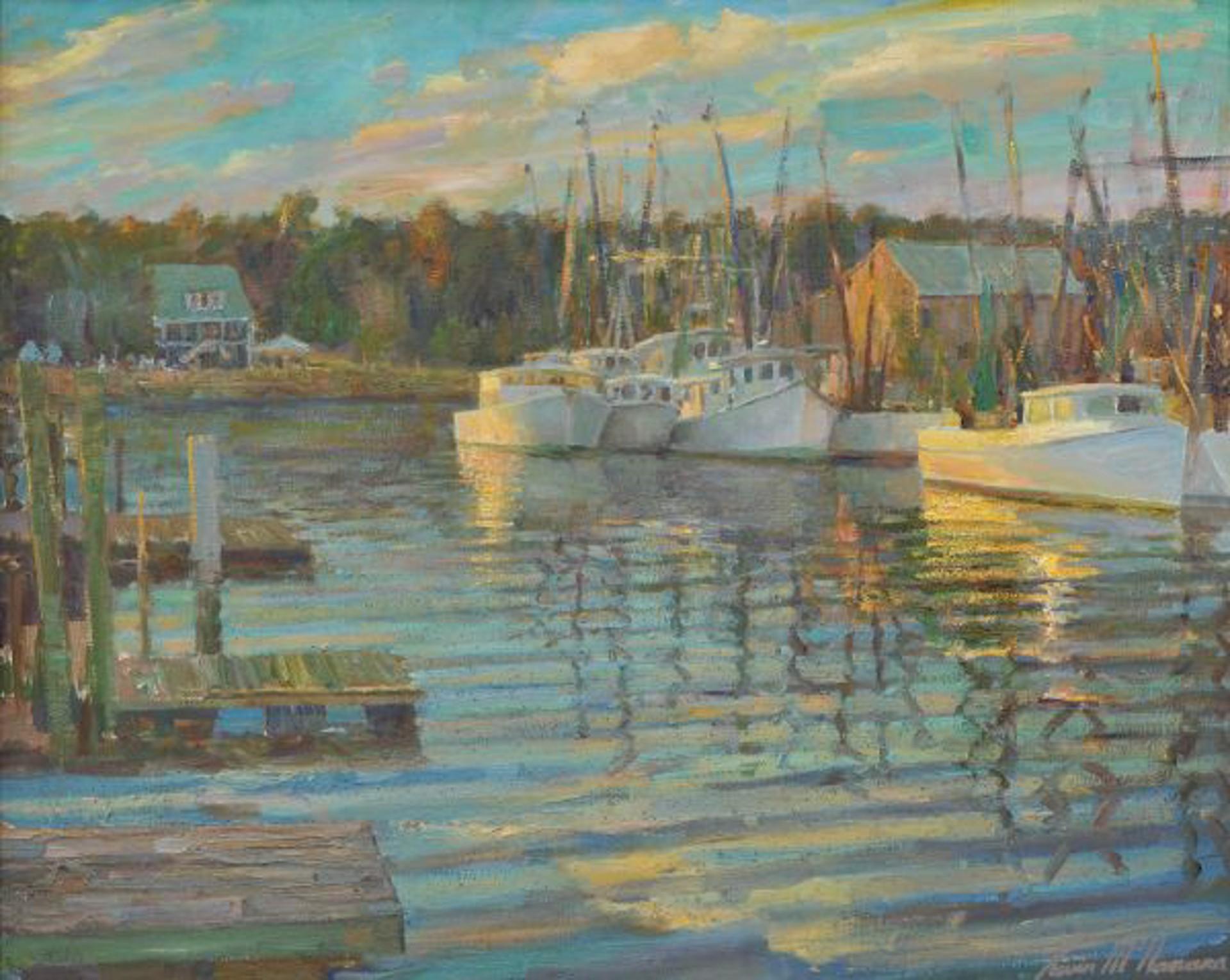 Shrimp Boats (McClellanville) by Kevin McNamara