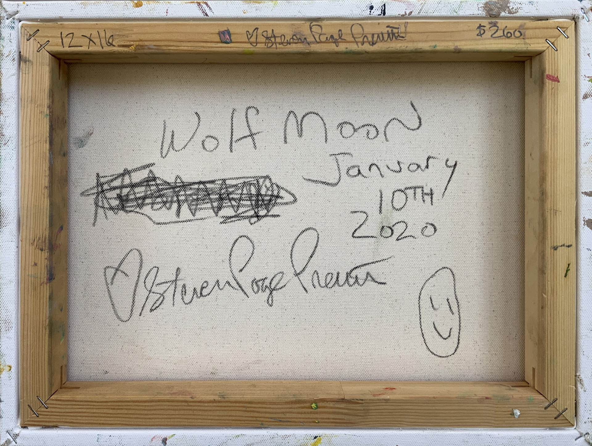 Wolf Moon January 10th 2020 by stevenpage prewitt