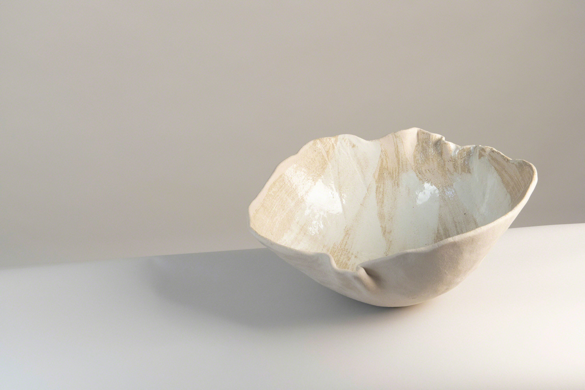"""Large Shell"" Centerpiece  by Claire de Lavallee"