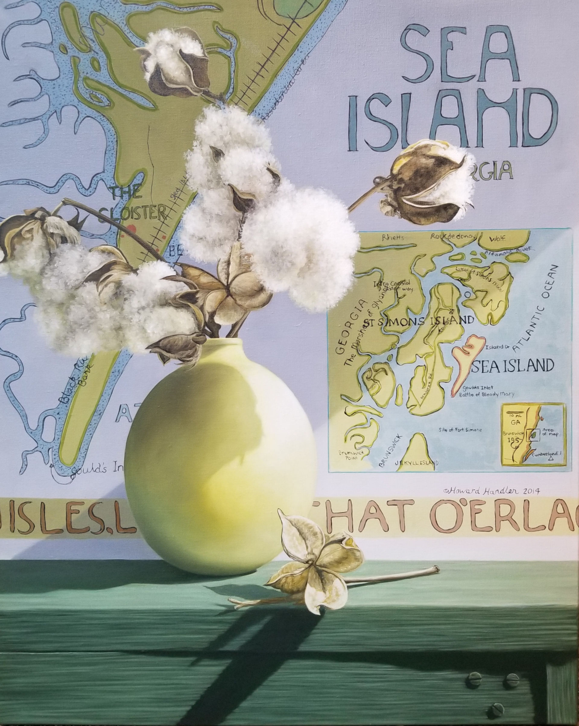 Sea Island Cotton by Loren DiBenedetto, OPA