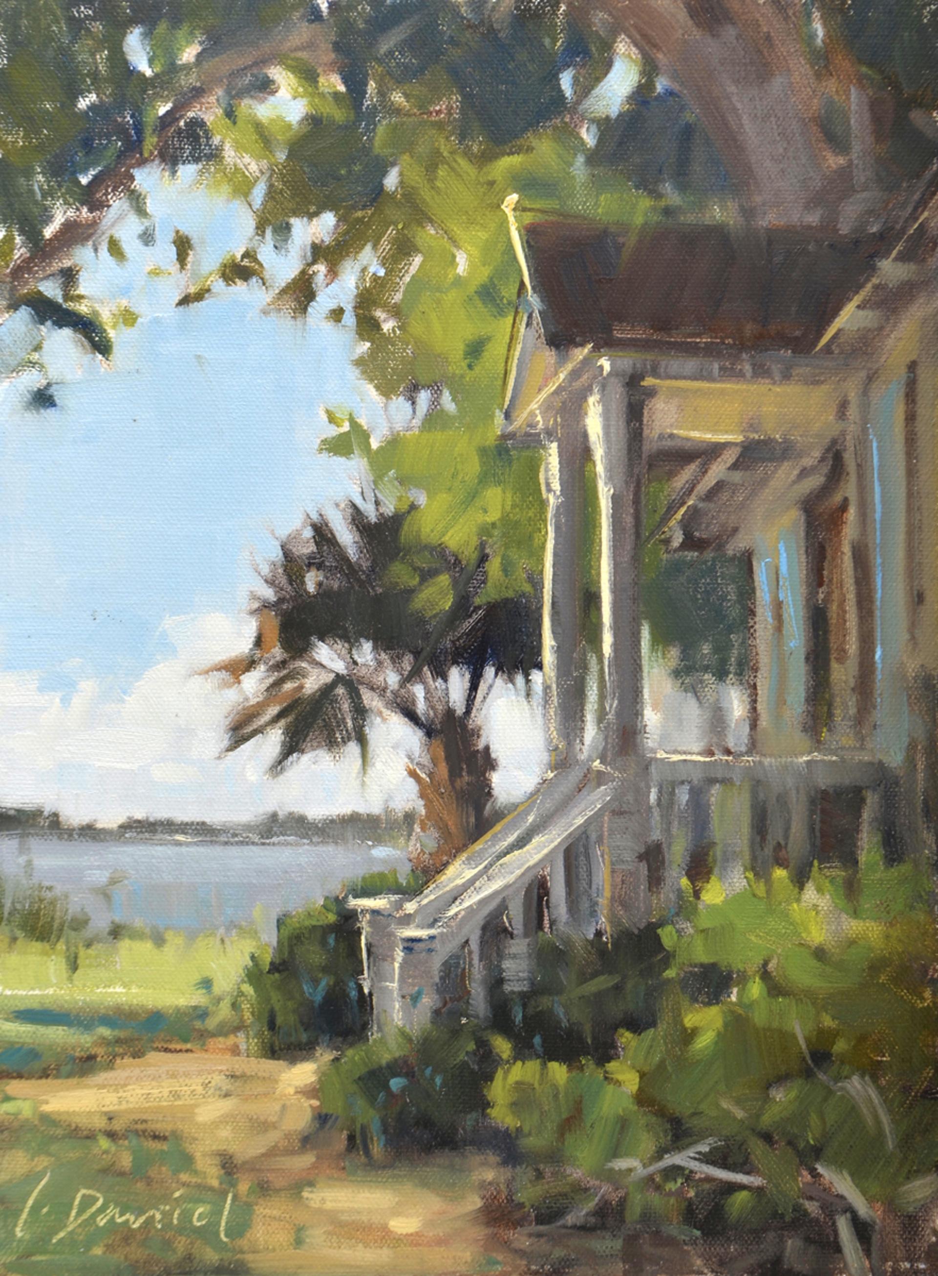 Cottage View by LAUREL DANIEL