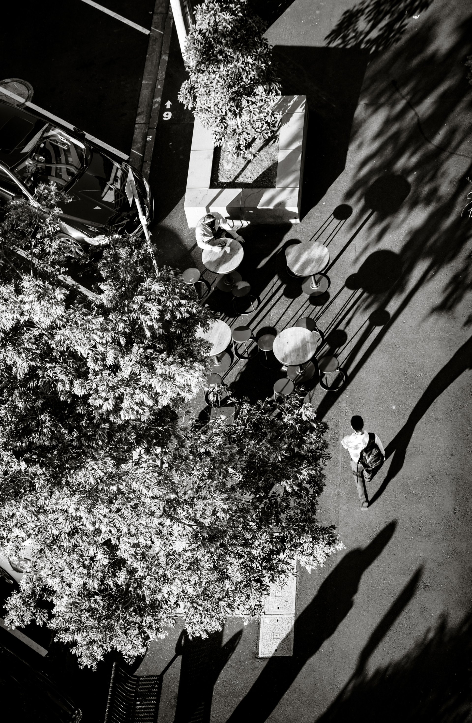 Melbourne Shadows by Alex Nyerges