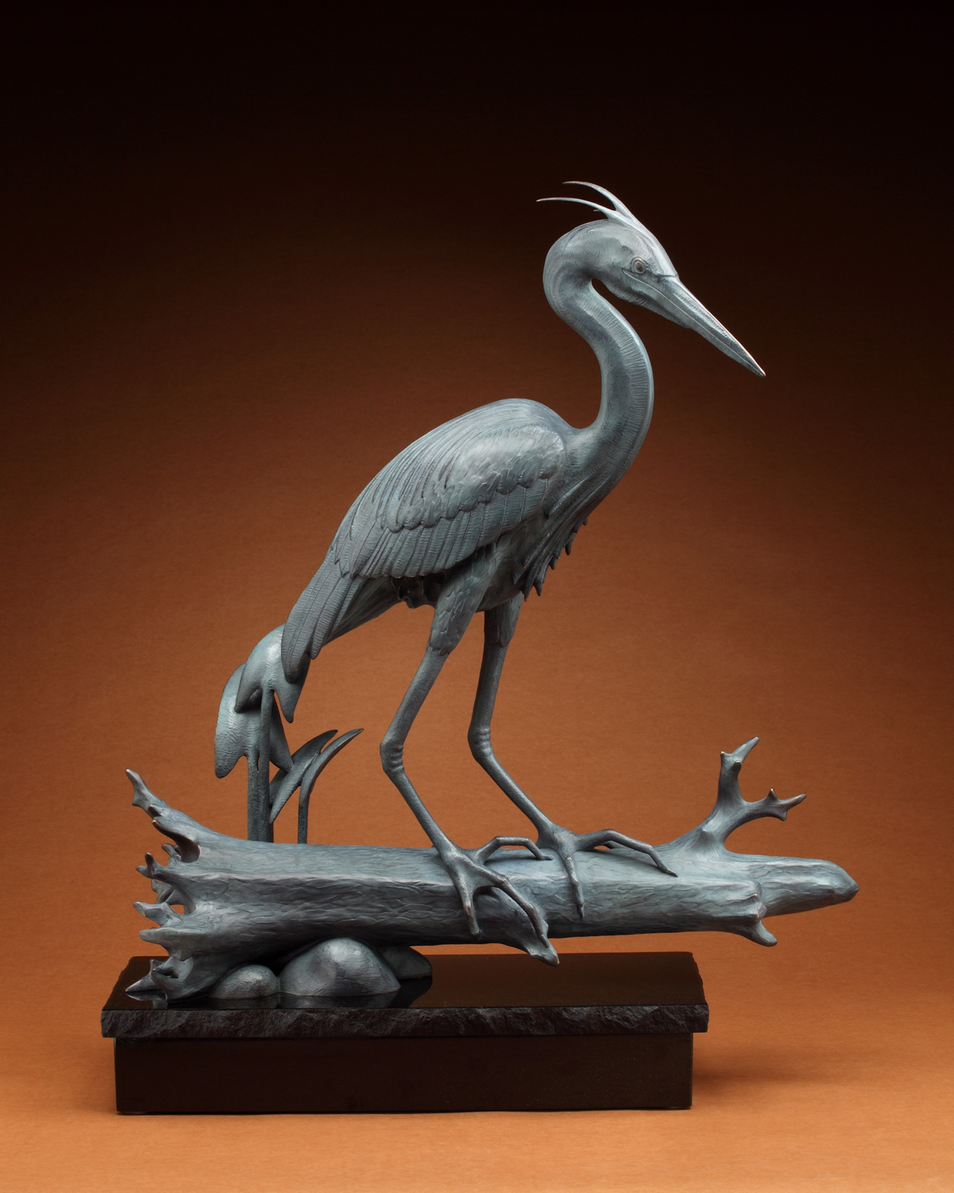 Blue Heron by Tony Hochstetler