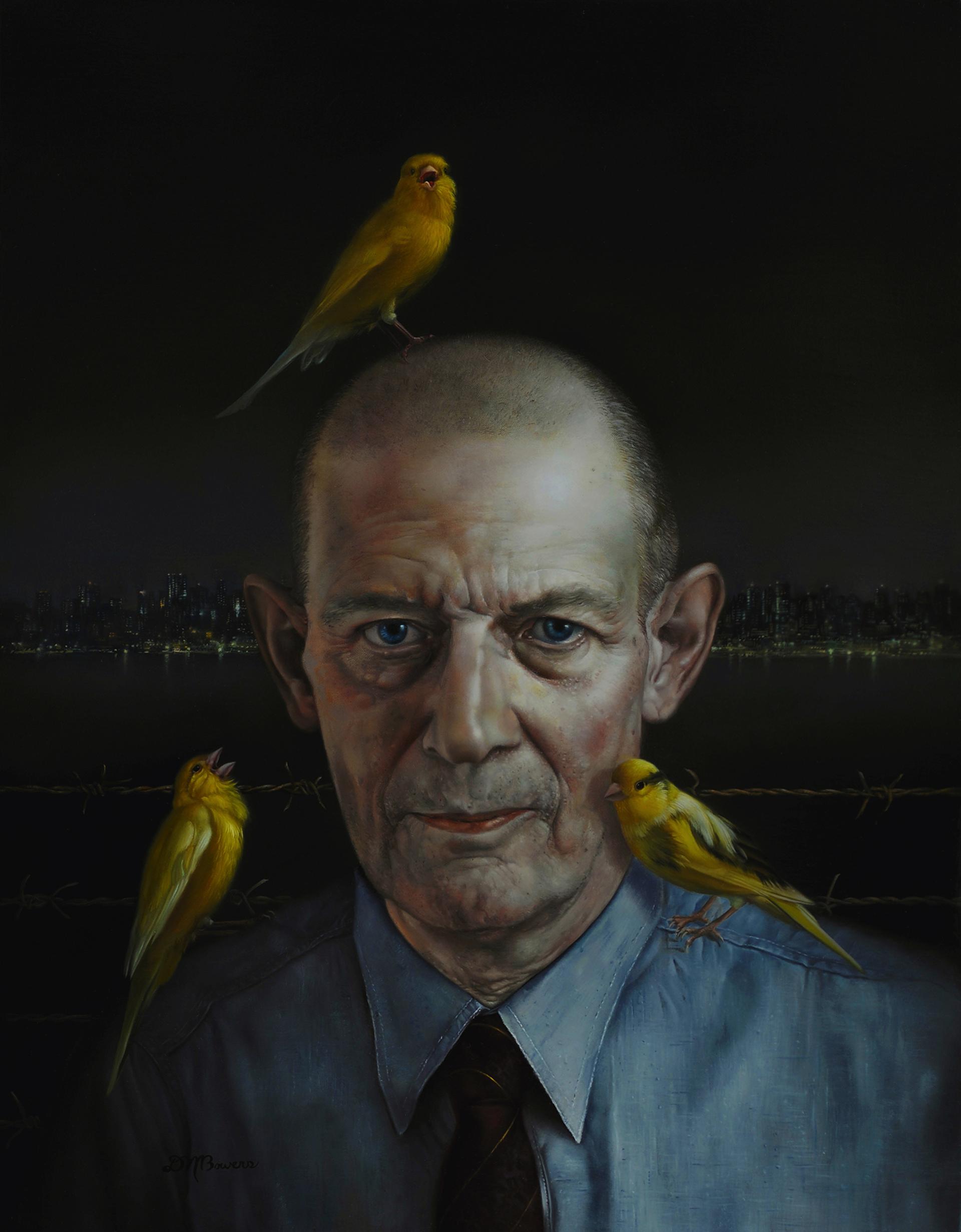 Robert Stroud (Birdman of Alcatraz) by David Michael Bowers