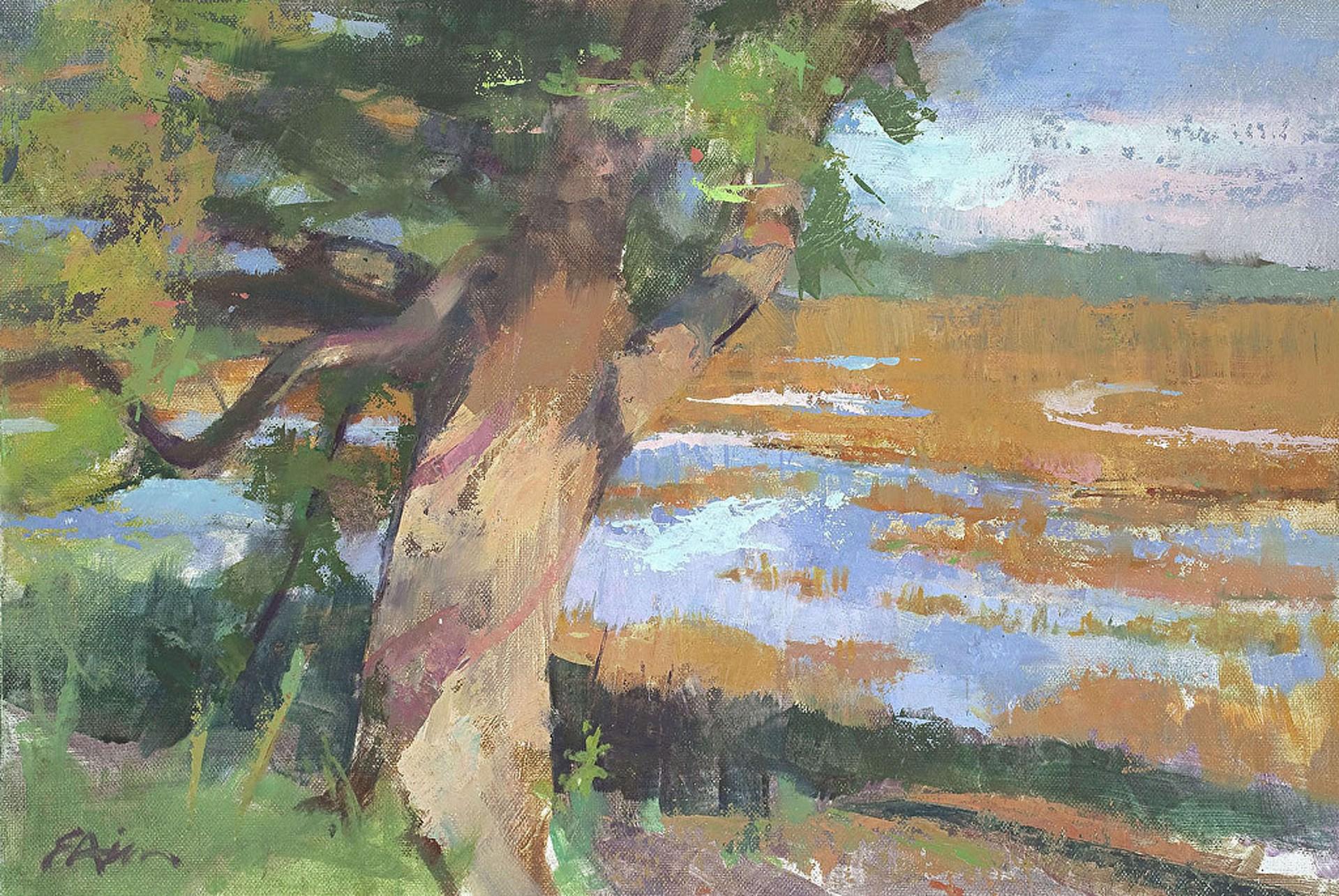 Chamisa at Noon by Emily Hirn