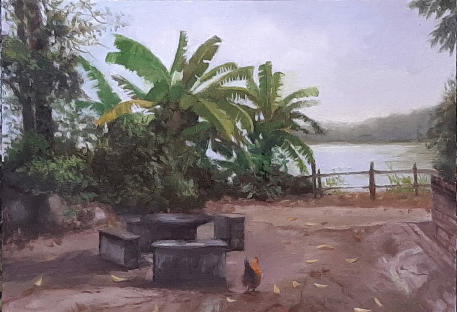 Small Fishing Village by Echo Baker