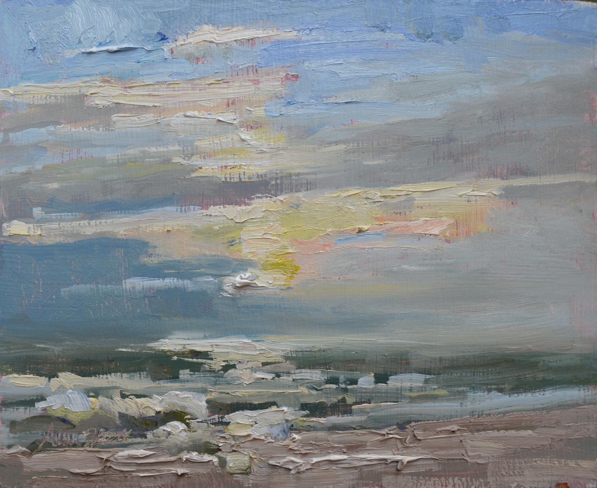 Sunrise in October by Karen Hewitt Hagan