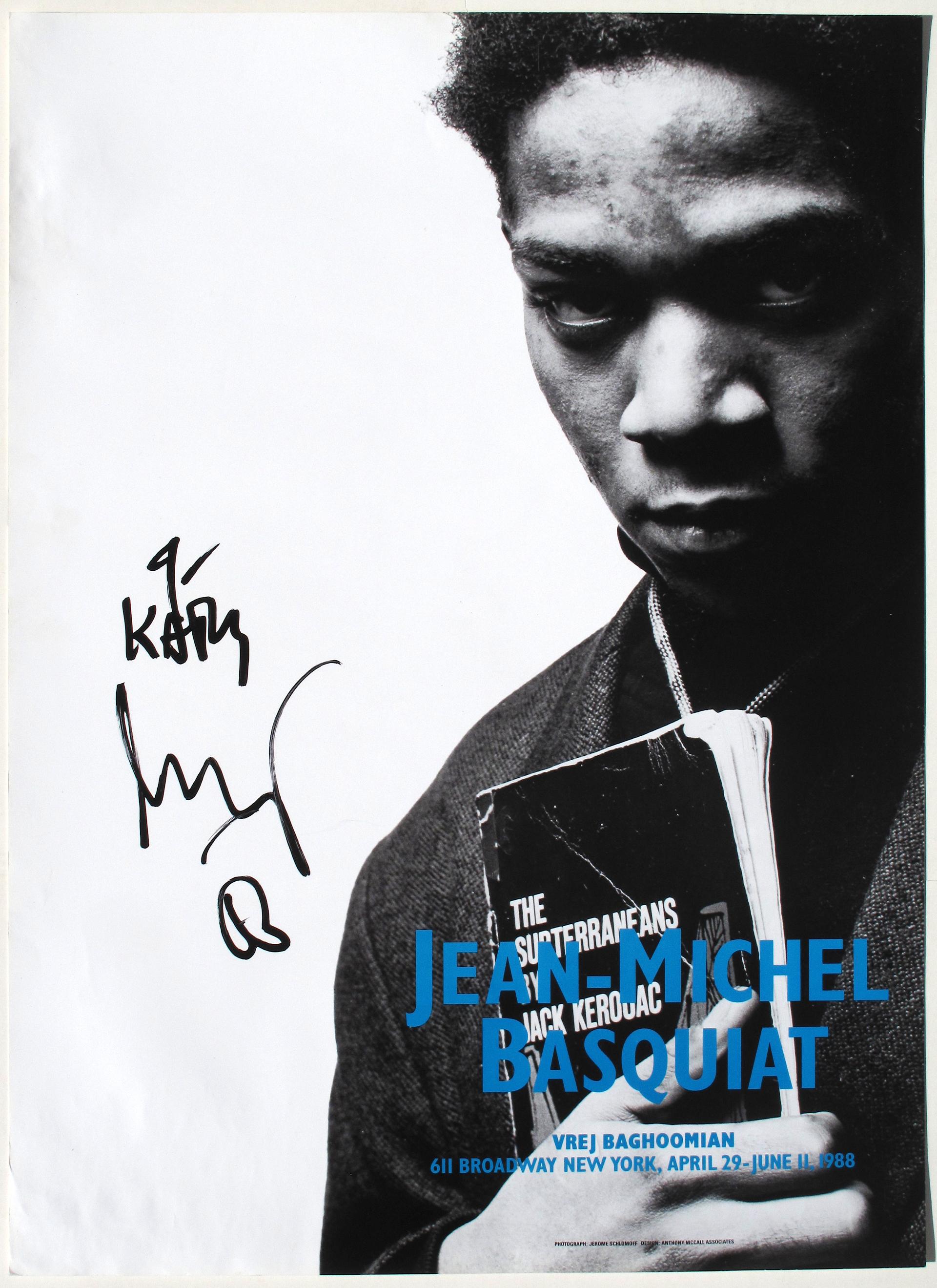 Portrait with Jack Kerouac by Jean-Michel Basquiat