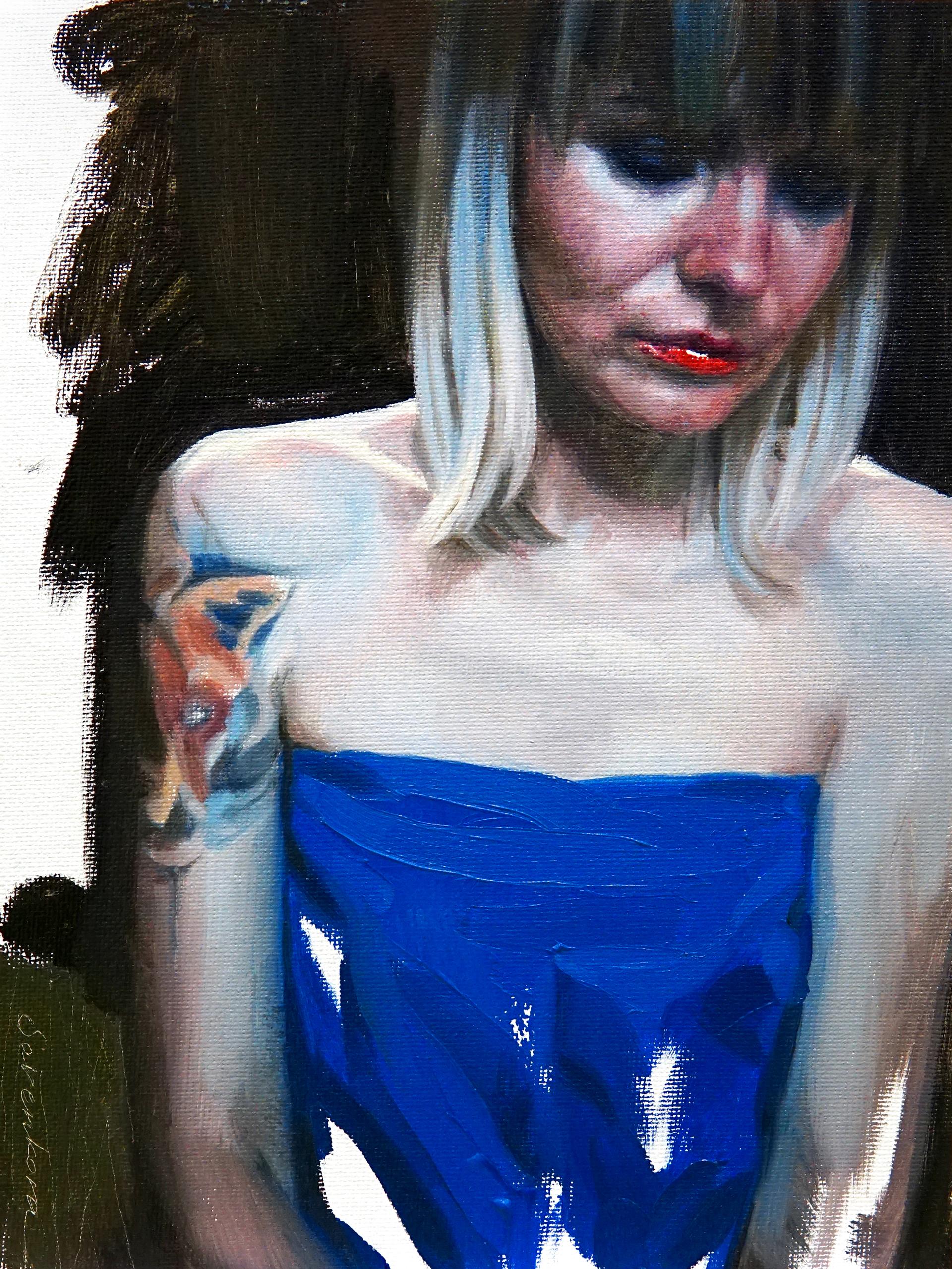 Girl in Blue by Viktoria Savenkova