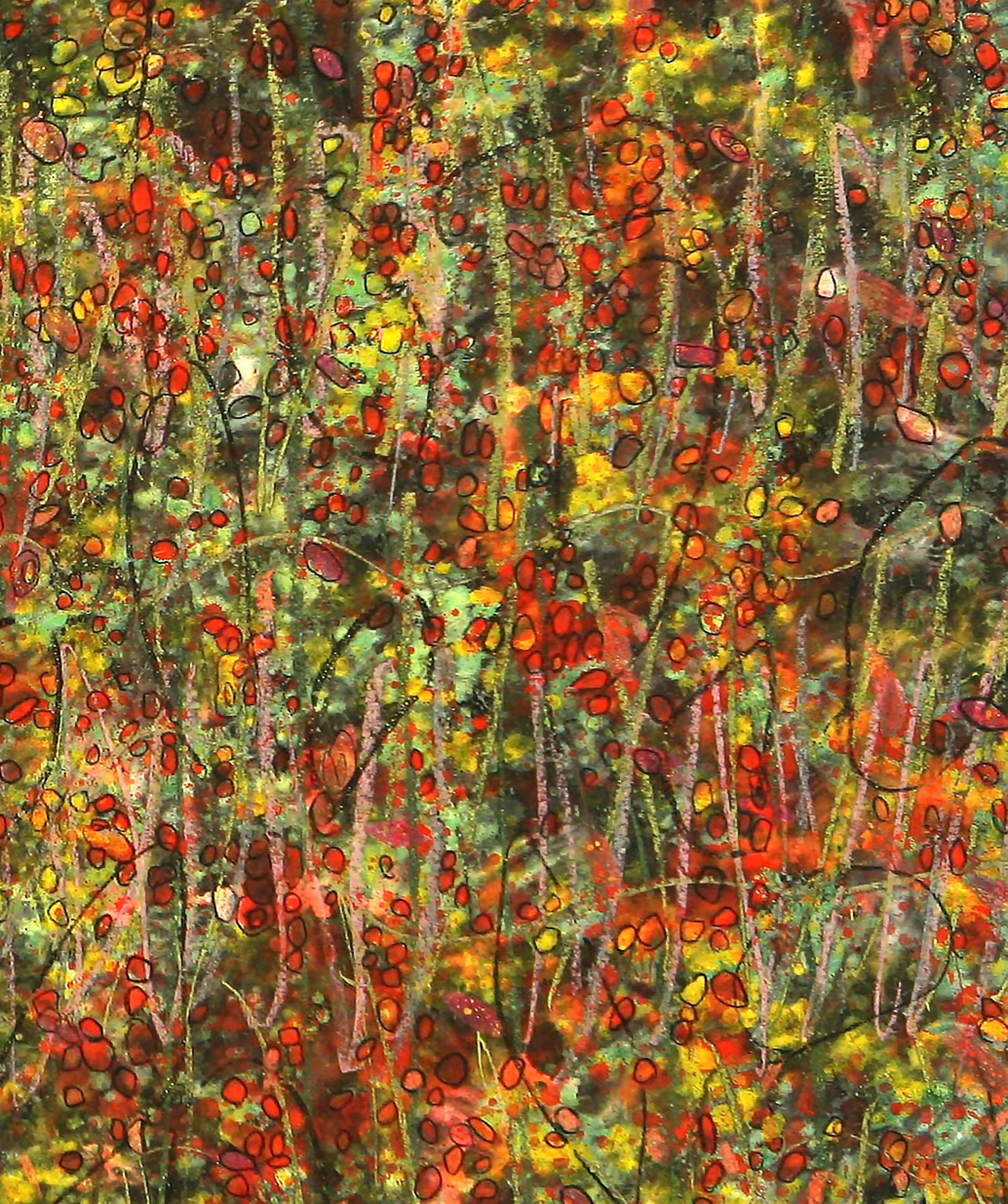 bitter melon ridge by Alan Lau