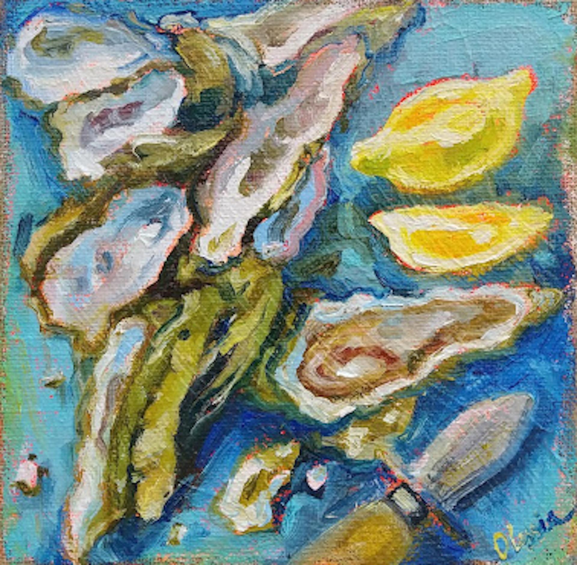 New Oystas II by Olessia Maximenko