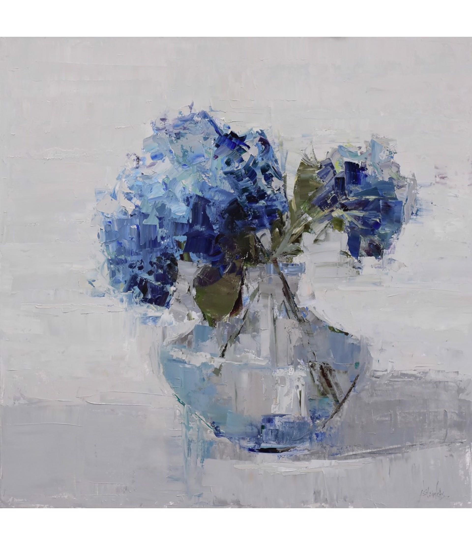 Summer Blues by Barbara Flowers