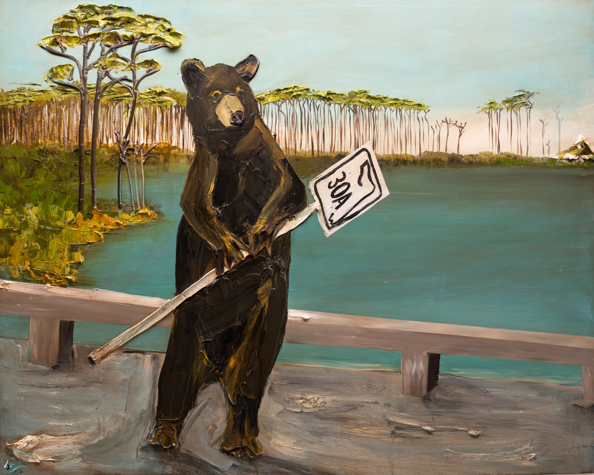 30A BEAR LAKESCAPE by JUSTIN GAFFREY