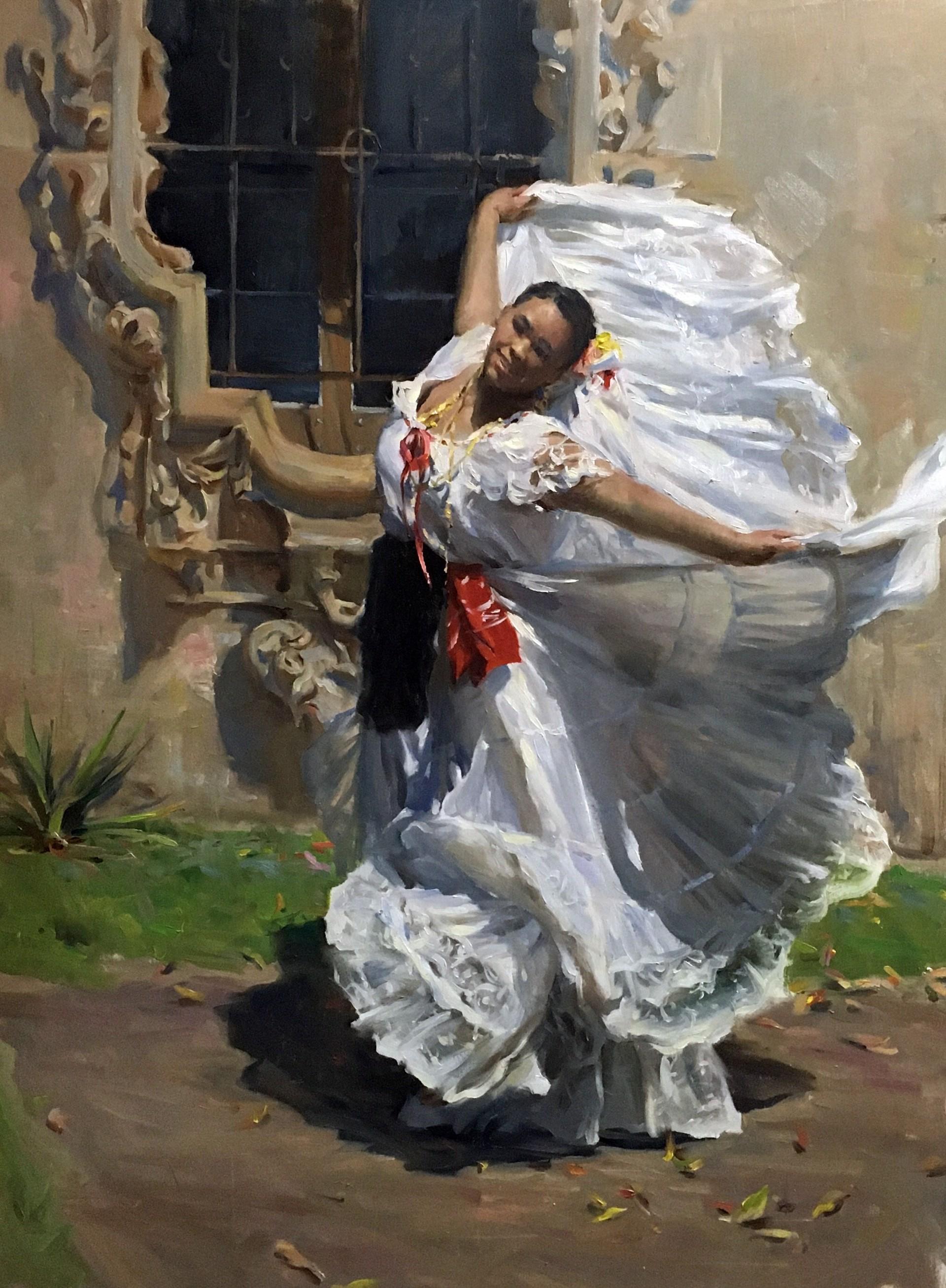 Son Jarocho Dancer by Kyle Ma